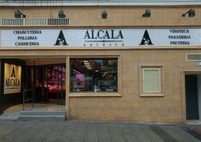 ALCALA SELECTO 2 Letras corpóreas de pvc