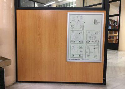 Impresión de planos en papel fotográfico con marco-clip de aluminio