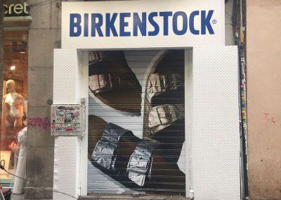 ROTULACION CIERRE BIRKENSTOCK FUENCARRAL