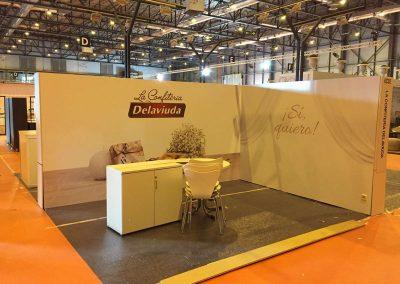 IFEMA DELAVIUDA Rotulación Stands muebles