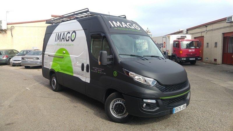 furgoneta imago 2 Rotulación de Vehículos