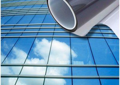 Laminas de proteccion solar edificios