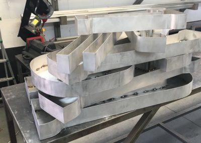Letras aluminio listas para pintar