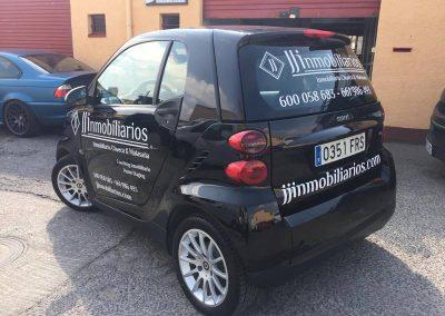 Rotulacion vehiculo comercial JJinmobiliarios